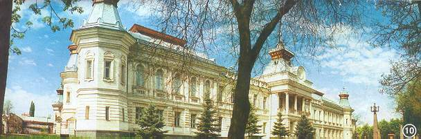One of the Historical museums in Chisinau